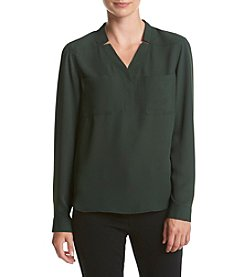 Nine West® Patch Pocket Blouse