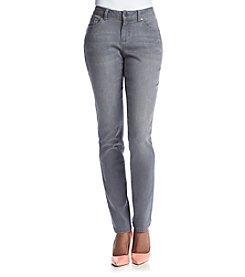 Earl Jean® Petites' Skinny Clean Pocket Jeans