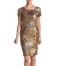 MSK® Side Knot Dress