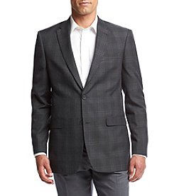 Tommy Hilfiger® Men's Gibbs Grey Plaid Sportcoat