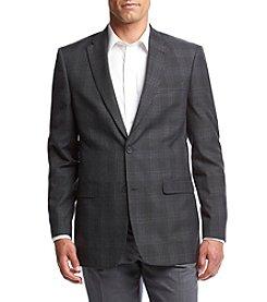 Tommy Hilfiger® Men's Gibbs Grey Plaid Sportcoat