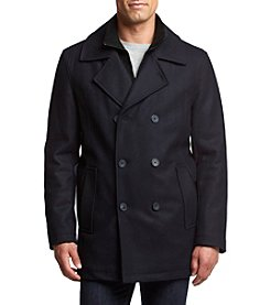 Andrew Marc® Men's Cheshire Wool Peacoat