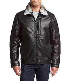 Andrew Marc® Men's Chatham Leather Jacket