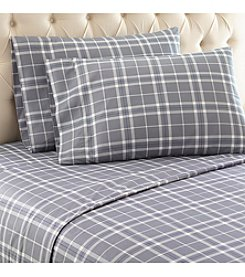 Shavel Home Products Micro Flannel® Carlton Plaid Sheet Set
