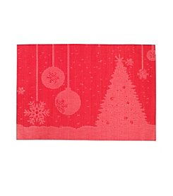 LivingQuarters Ornament Textalene Placemat