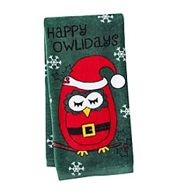 Ritz™ Happy Owlidays Santa Kitchen Towel