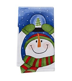Ritz™ Snowman Snowglobe Kitchen Towel