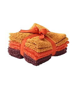 LivingQuarters 6-Pack Of Washcloths