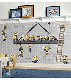 RoomMates Minions at Work Wall Mural