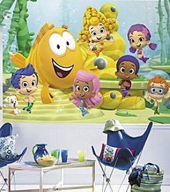 RoomMates Bubble Guppies Wall Mural