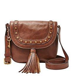 Fossil® Emi Studded Saddle Bag Crossbody