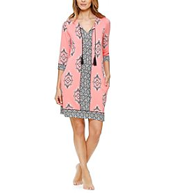 Ellen Tracy® Printed Sleepshirt