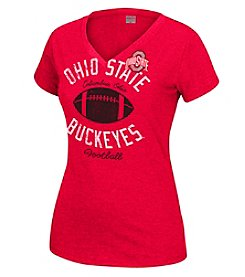 J. America® NCAA Ohio State Buckeyes Women's Staple Tee