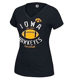 J. America® NCAA® Iowa Hawkeyes Women's Staple Short Sleeve Tee