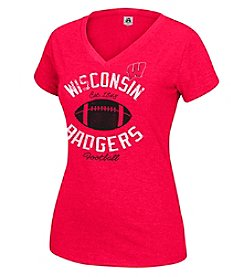 J. America® NCAA® Wisconsin Badgers Women's Staple Tee
