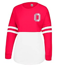 J. America® NCAA® Ohio State Buckeyes Women's Cheer Long Sleeve Tee