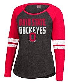 J. America® NCAA® Ohio State Buckeyes Women's Fastball Tee