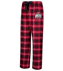 J. America® NCAA® Ohio State Buckeyes Women's Flannel Dorm Pants