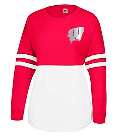 J. America® NCAA® Wisconsin Badgers Women's Cheer Tee