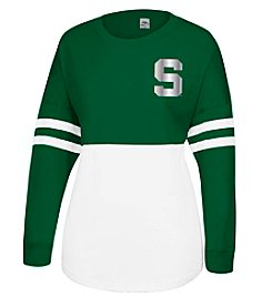 J. America® NCAA® Michigan State Spartans Women's Cheer Long Sleeve Tee