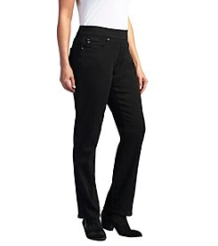 Lee® platinum label Evelyn Pull-On Straight Leg Jeans