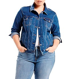 Levi's® Plus Size Trucker Denim Jacket