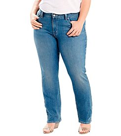 Levi's® Plus Size 414 Relaxed Straight Leg Jeans