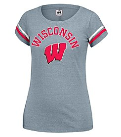 J. America® NCAA® Wisconsin Badgers Women's Powder Puff Tee