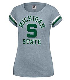 J. America® NCAA® Michigan State Spartans Women's Powder Puff Tee