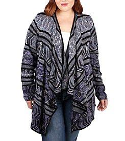 Lucky Brand® Plus Size Lotus Cardigan Sweater