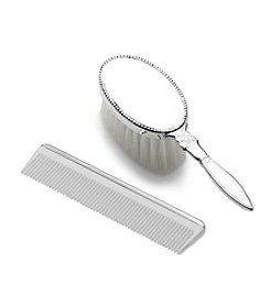 Empire Silver™ Beaded Baby's Brush & Comb Set
