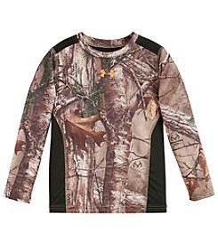 Under Armour® Boys' 4-7 Long Sleeve Real Tree Tee