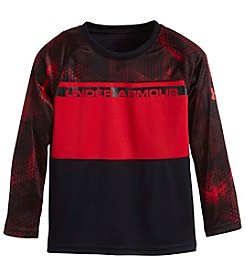 Under Armour® Boys' 2T-7 Long Sleeve Printed Tee
