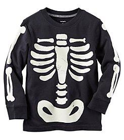 Carter's® Boys' 2T-8 Long Sleeve Skeleton Tee