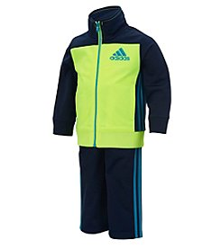 adidas® Baby Boys 2-Piece Qualify Tricot Set