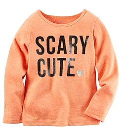 Carter's® Baby Girls' Long Sleeve Scary Cute Tee