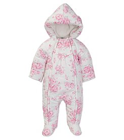 Little Me® Baby Girls' Hooded Floral Pram