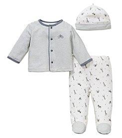 Little Me® Baby Boys 3-Piece Safari Stripe Set