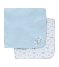 Little Me® Baby Boys 2-Pack Pals Receiving Blankets