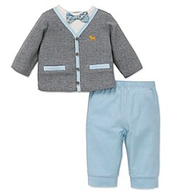 Little Me® Baby Boys 2-Piece Preppy Pup Set