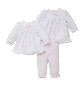 bccd4e206737e UPC 883953856630 product image for Little Me® Baby Girls' 3-Piece Gentle  Blooms ...