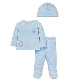 Little Me® Baby Boys 3-Piece Pals Stripe Set
