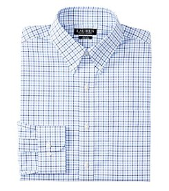 Lauren Ralph Lauren® Men's Slim Fit Long Sleeve Button Down Collar Grid Dress Shirt