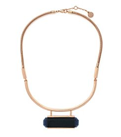 Vince Camuto™ Rose Goldtone  Half Torque Necklace
