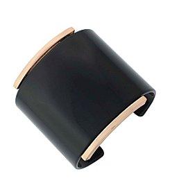 Vince Camuto™ Rose Goldtone Acetate Cuff Bracelet