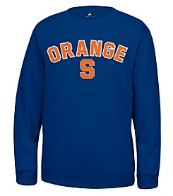 J. America® NCAA® Syracuse Orange Men's Sculler Crew Neck Sweater