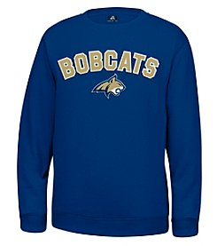 J. America® NCAA® Montana State Bobcats Men's Sculler Crew Neck Sweater