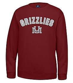 J. America® NCAA® Montana Grizzlies Men's Sculler Crew Neck Sweater