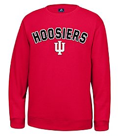 J. America® NCAA® Indiana Hoosiers Men's Sculler Crew Neck Sweater