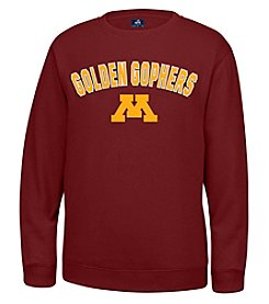 J. America® NCAA® Minnesota Golden Gophers Men's Sculler Crew Neck Sweater